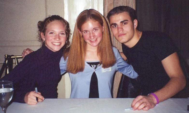 Brittany Snow, me, Paul Wasilewski!
