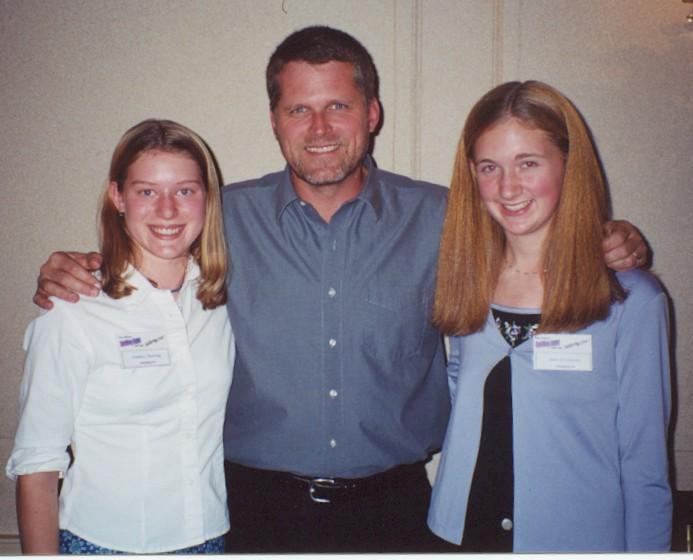 Lindsay, Robert Newman and Julie