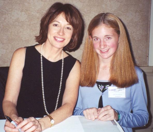 Maureen Garrett and Julie